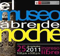 Museo de Arqueología y Antropología abre suspuertas de noche