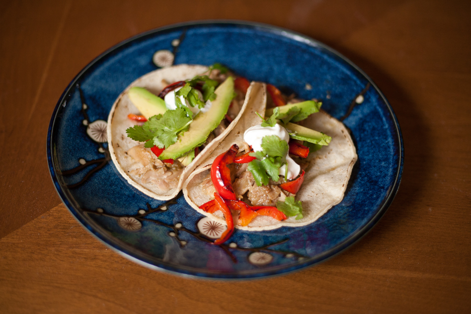 Gluten-free Gourmand: Beer-braised Chicken Tacos
