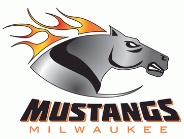 Milwaukee Mustangs 2011 Logo