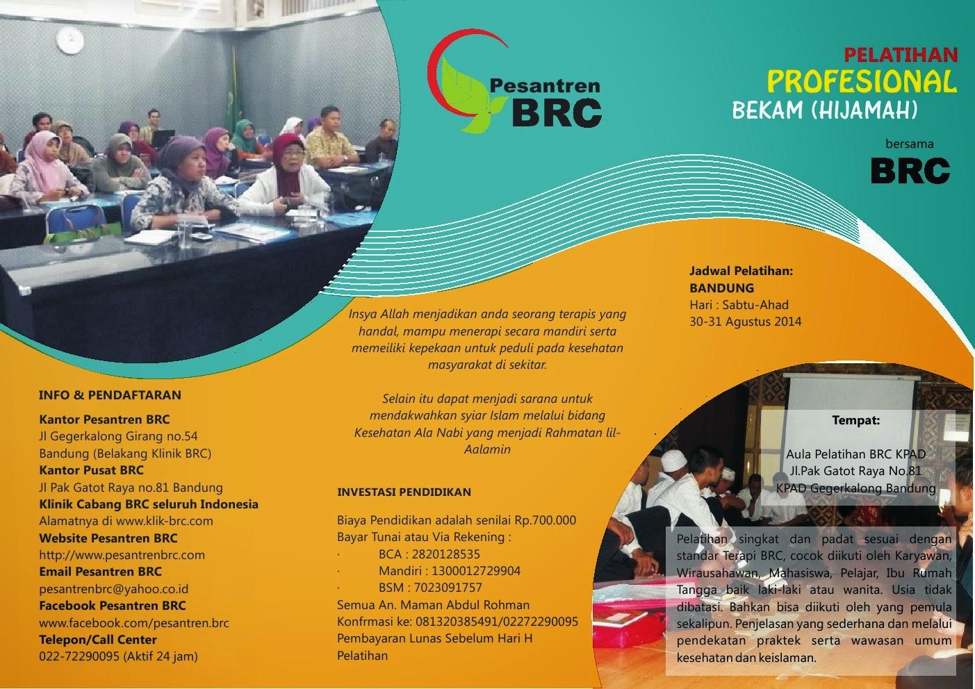Training Diklat Pelatihan Bekam di Bandung Cirebon