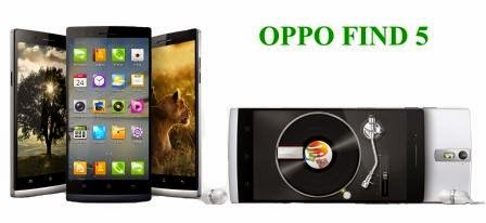 Harga Oppo Find 5 Baru, Harga Oppo Find 5 Bekas, Spesifikasi Lengkap Oppo Find 5