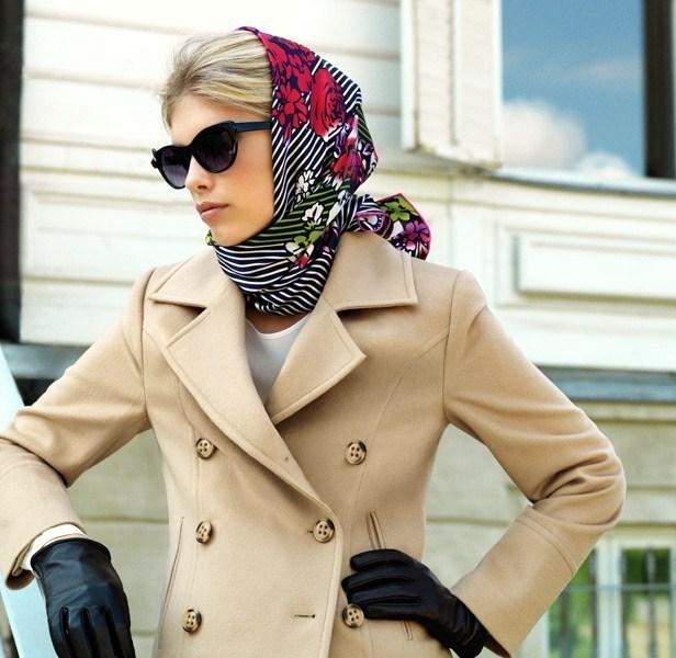 Head Scarf  Head Scarves Head Scarves as Fashion Trend Head Scarves Fashion Trend
