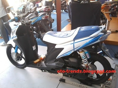 Foto Modifikasi Suzuki Nex