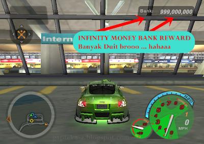 Cara Mudah Menambah / Memperbanyak Uang Menjadi Jutaan di Game Need For Speed Undergraund 2 | NFS UNDERGRAUND 2