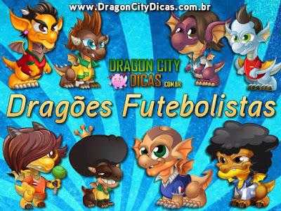 Os Fantásticos Dragões Futebolistas!