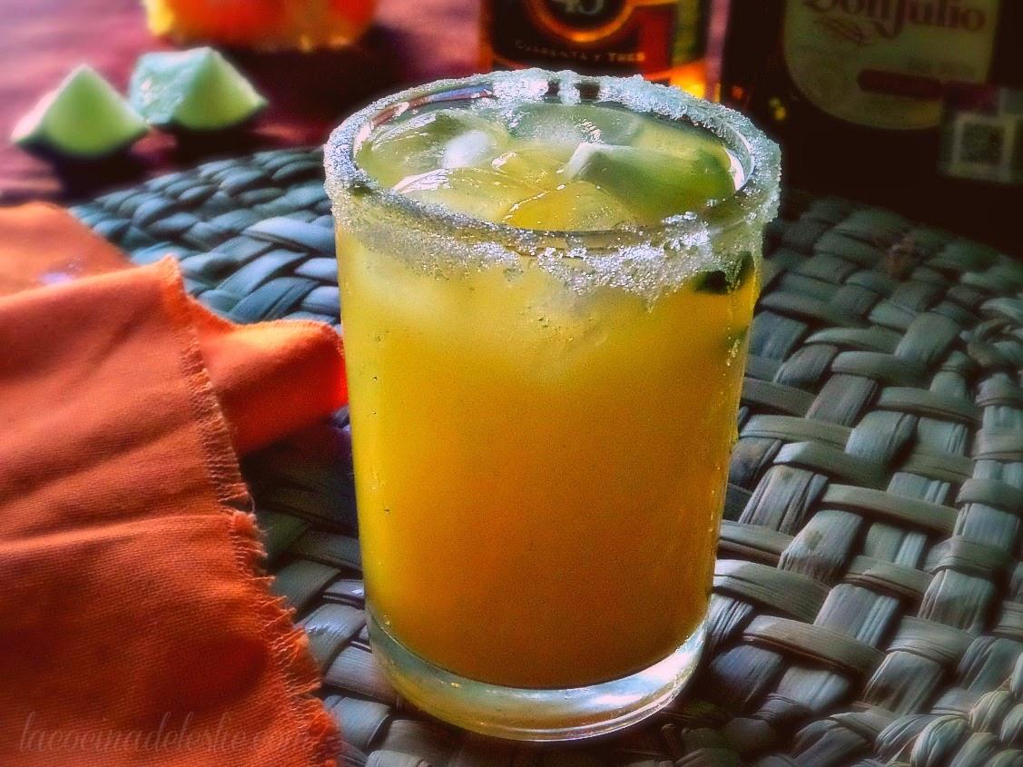 Margarita de Mango - lacocinadeleslie.com