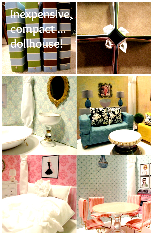 Сделать кукольный домик своими руками с мебелью