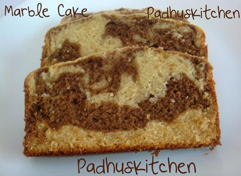 Chocolate Marble Tray Bake Recipe