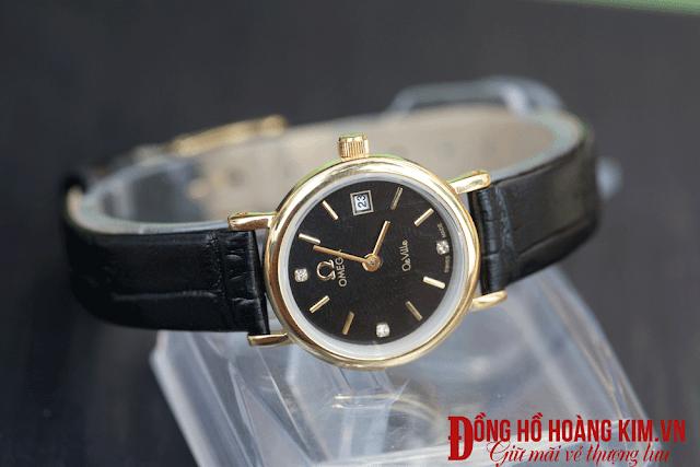 Đồng hồ nữ dây da giá 500k