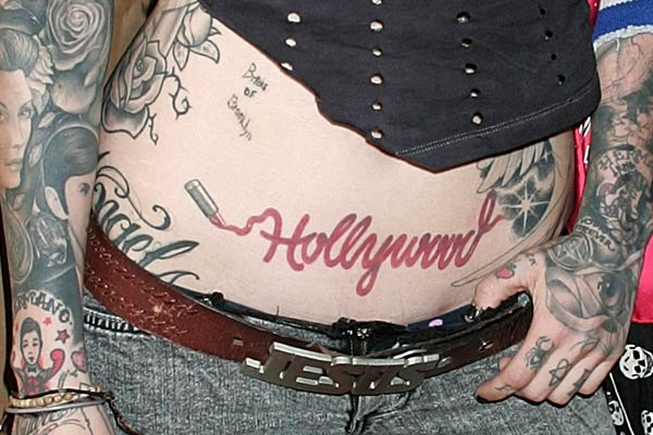 Afrenchieforyourthoughts kat von d tattoos on her body