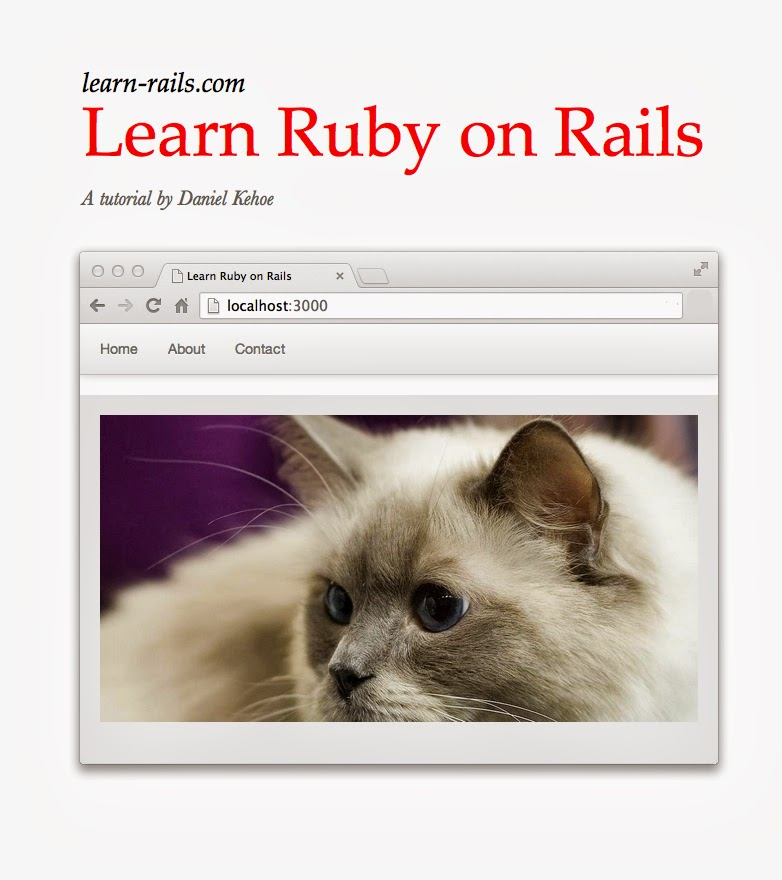 Learn Ruby on Rails front cover