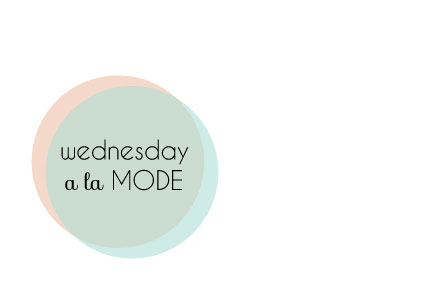wednesday a la mode