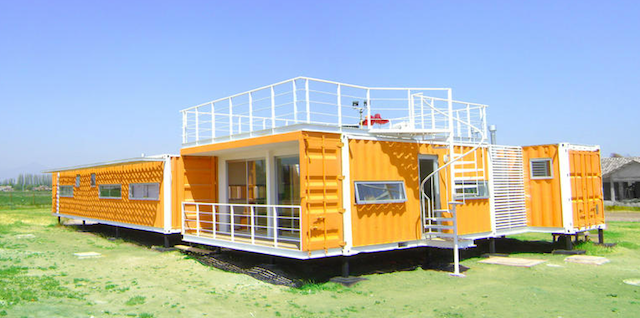 11.) This is the kind of home that keeps a person happy. - All You Need is Around $2000 to Begin Building One of These Epic Homes – Made From Recycled Shipping Containers!