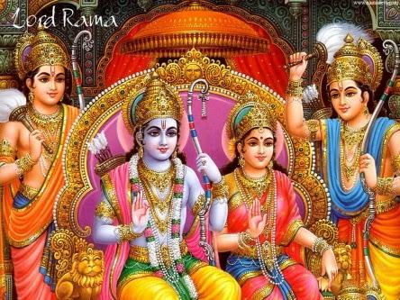 Lord Rama and Sitha