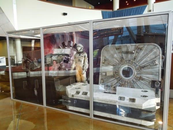 Interstellar astronaut suit film props