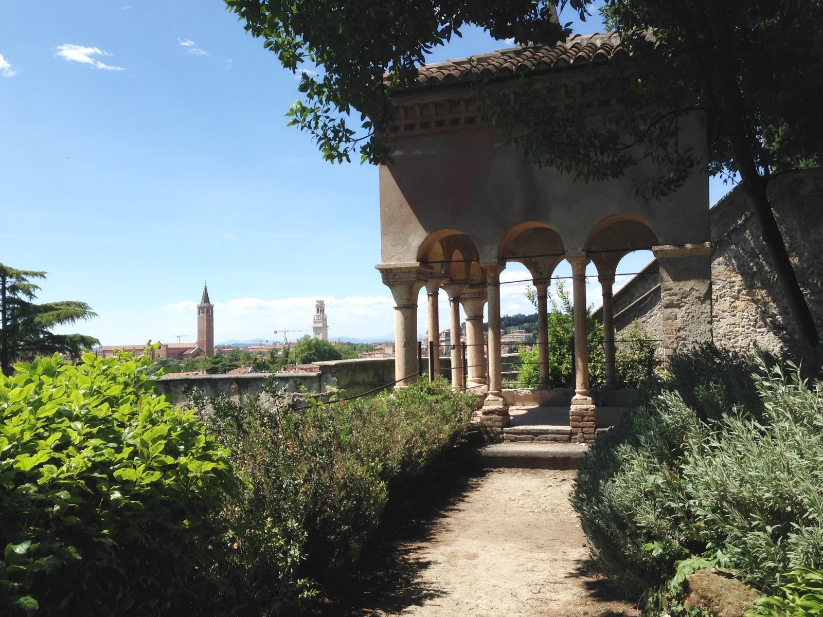 The magpie s fancy verona s giardino giusti