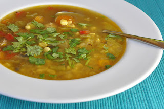 Recipe: Southwestern chicken &#8216;n corn soup
