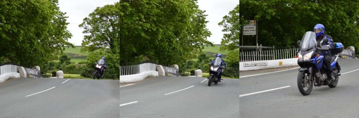 Suzuki en Ballaugh Bridge