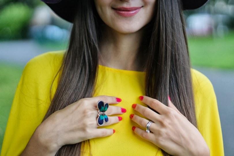 accessorize, butterfly ring, interesting jewellery, кольцо бабочка, интересные украшения