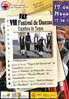 17/mayo. VII Festival de Danzas. Cespedosa de Tormes