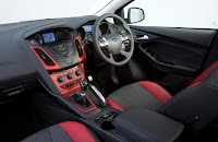Ford Focus Zetec S (2012) Interior