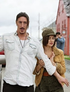Eric Balfour of Six Feet Under with new cast member Emma Lahuna, previously seen in Arctic Air, Hellcats and as the Yellow Ranger in Power Rangers Dino Thunder