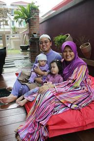 Nur Idamilia's Family