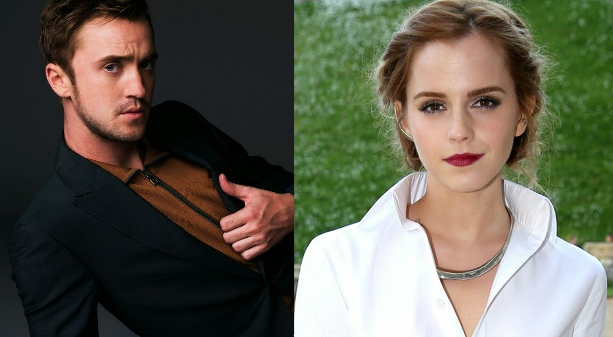 Emma Watson And Tom Felton Beauty The Beast