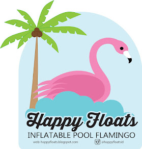 Happy Floats Flamingo