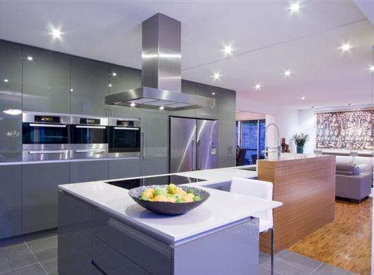 Design And Furniture Full Kitchen Interior Design Futuristic Lamp By James Darren