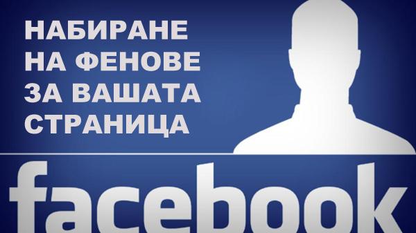 набиране на facebook фенове