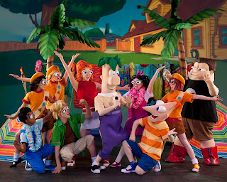 Backyard+Beach TICKETS FOR DISNEY'S PHINEAS AND FERB: The Best Live Tour Ever Are Now on Sale