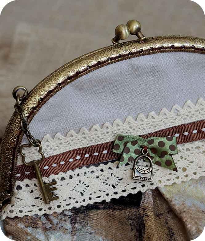 сумочка с ключиком