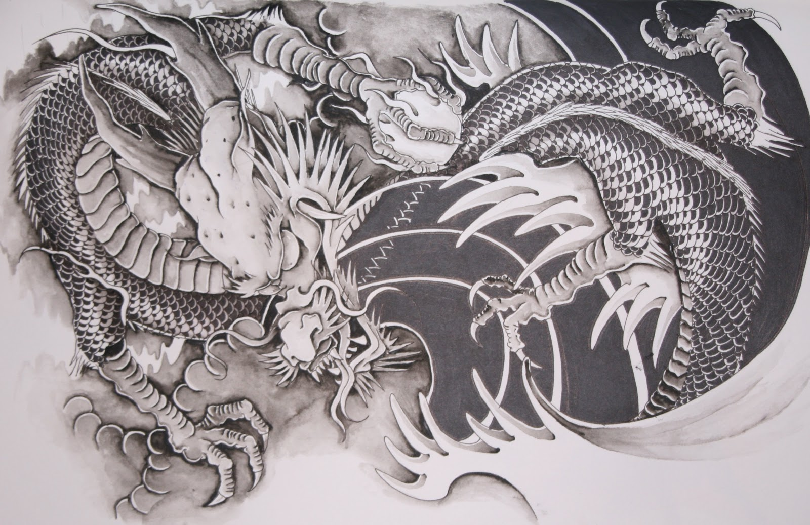 Dragon puppet tattoos for Customize tattoos for free