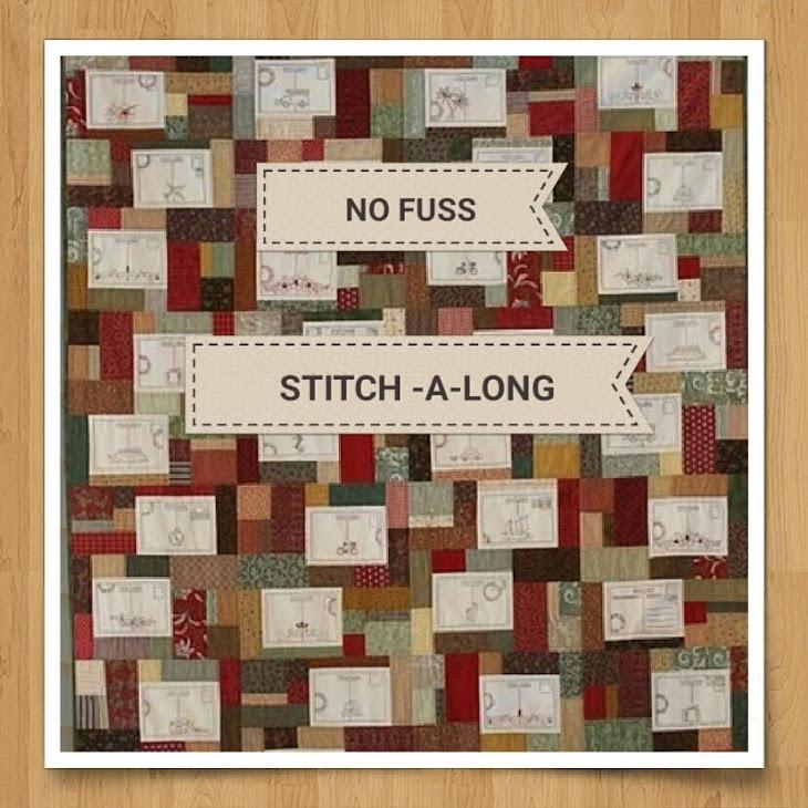 NO FUSS Stitch-a-long