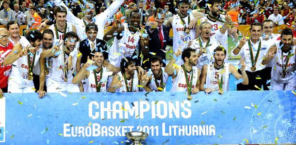Eurobasket Lituania 2011 Campeones+Eurobasket+2011