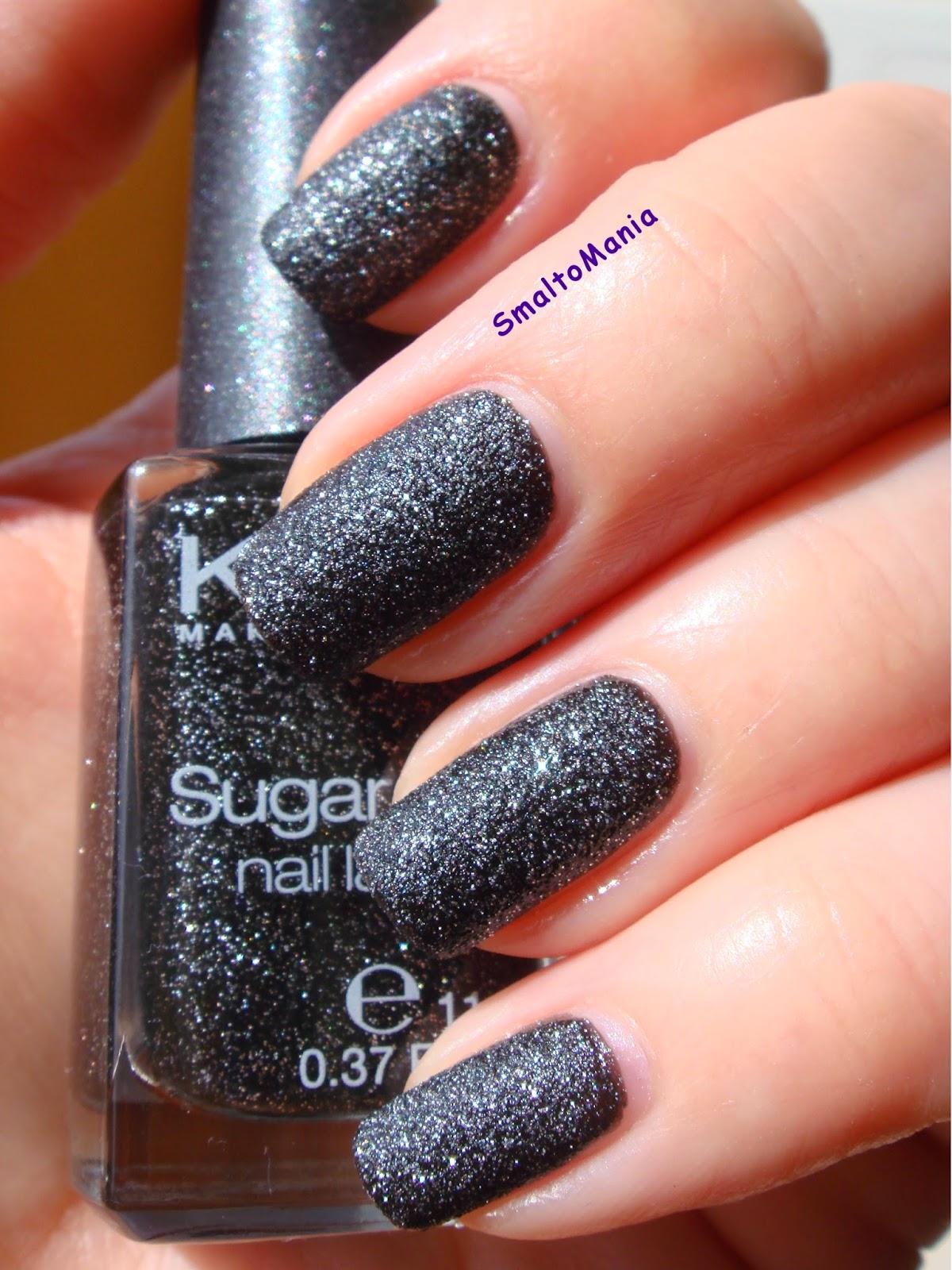 Kiko Sugar Mat n.646 Nero Stellato