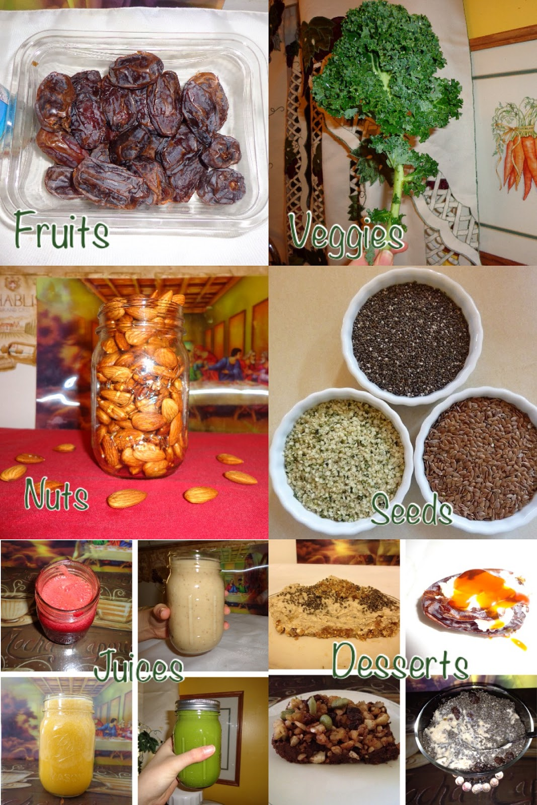 My weekly diet diary 1 what a raw vegan teen eats in a week tips my diet eats collage forumfinder Choice Image