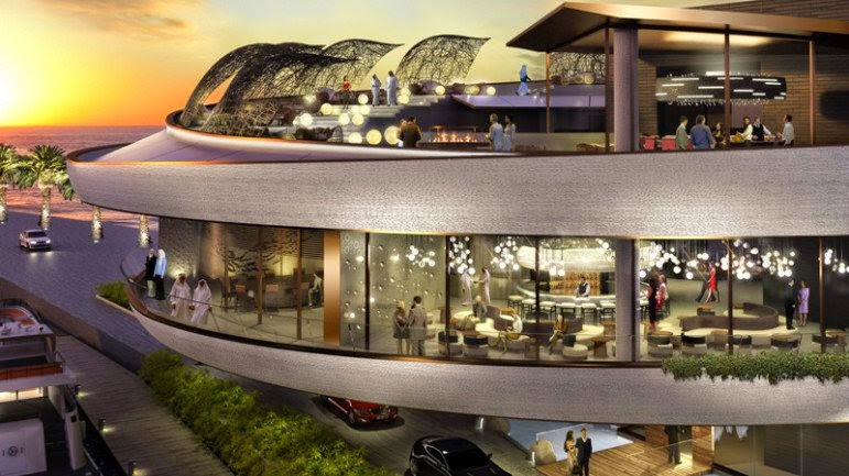 Passion for luxury largest nobu restaurant in doha for Four restaurant