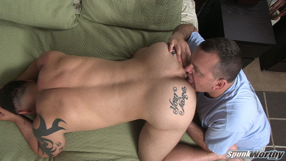 Anally Banged Jock Gets Rimmed