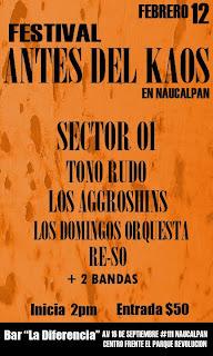 Festival Antes del Kaos.