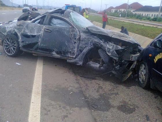 Sad Photos From The Accident That Killed El Rufai's Son {LOOK}