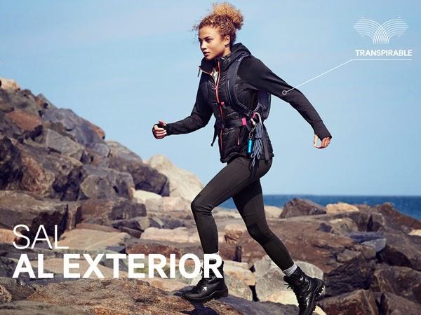 moda deportiva mujer H&M ropa exterior montana
