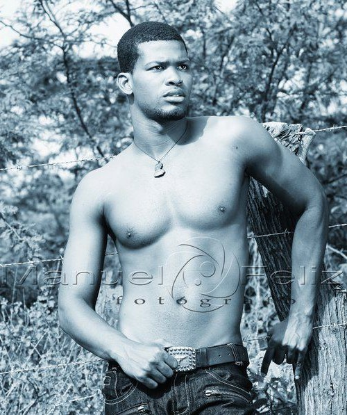 Mister Haiti 2012 winner Yves Moise Conseant