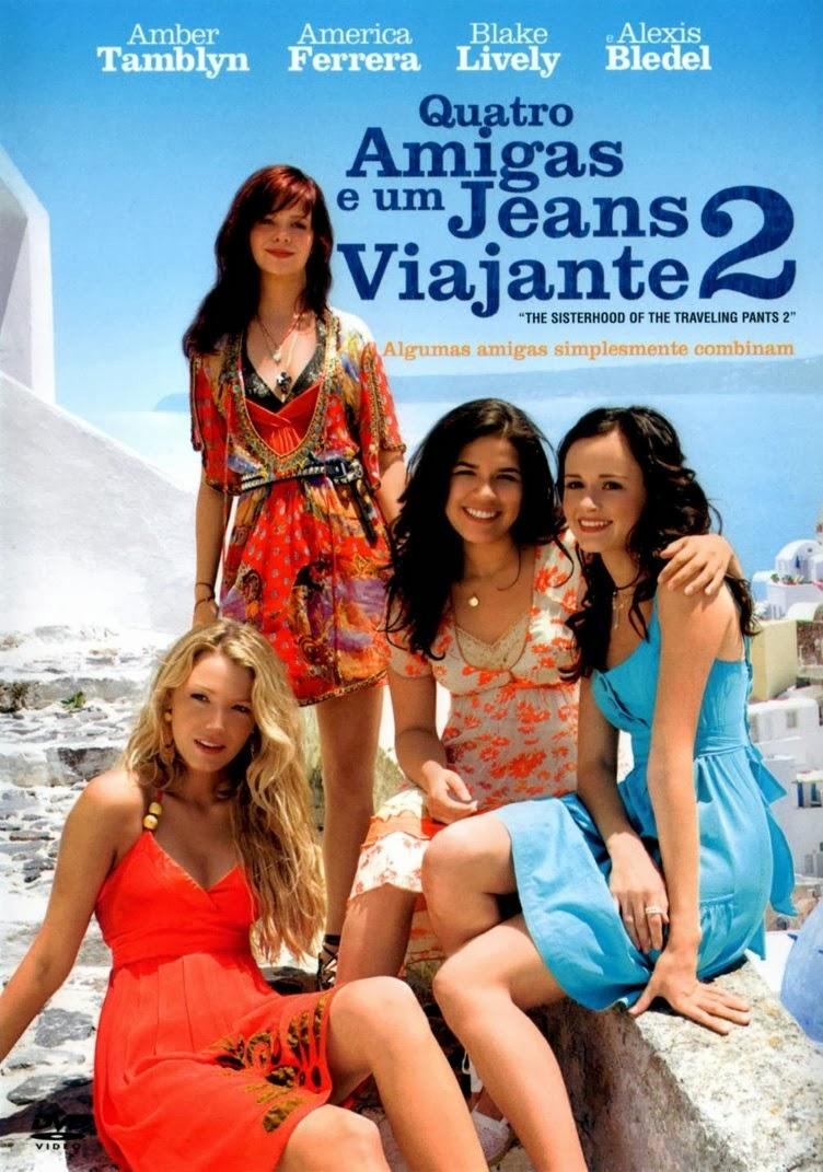 Quatro Amigas e um Jeans Viajante 2 – Dublado (2008)