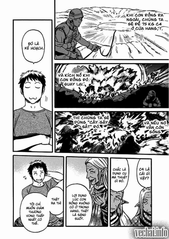 Gate – Jietai Kare no Chi nite, Kaku Tatakeri chap 43 Trang 10 - Mangak.info