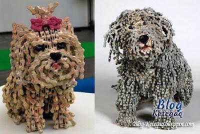 patung anjing