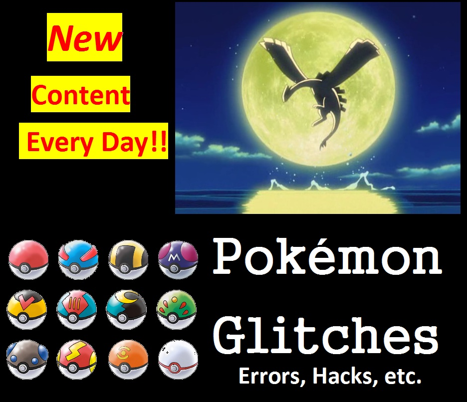All of Pokemon's Glitches, Hacks, and Errors