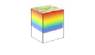 Adoptar una forma de caja para el block de hojas