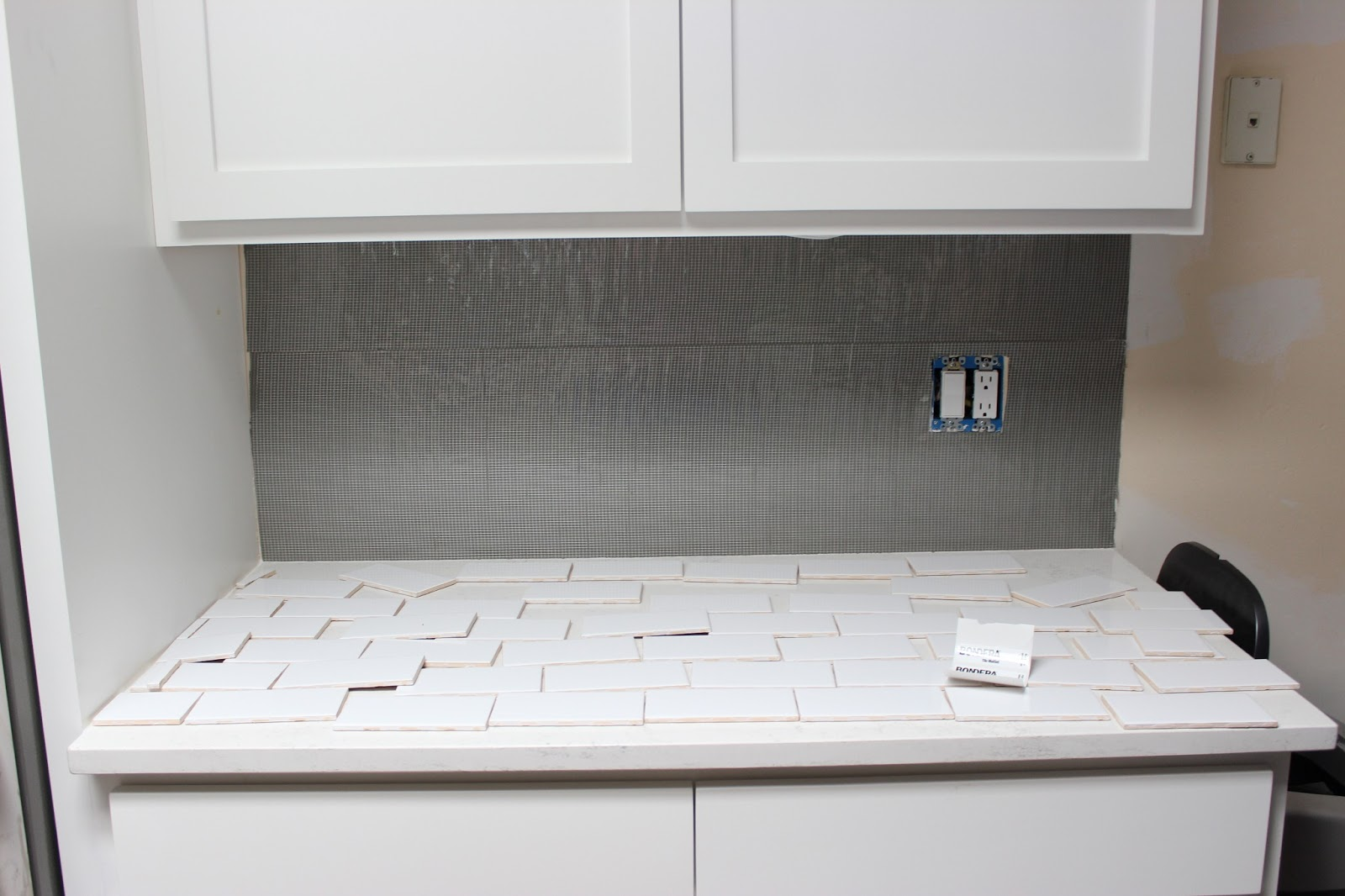 easy diy subway tile backsplash tutorial dream book design